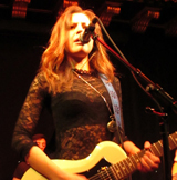 Eilidh McKellar and GTs Boos Band - Edinburgh Blues Club - Voodoo Rooms -