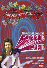 Ronnie Lane Memorial Concert DVD - One For The Road - Royal Albert Hall -