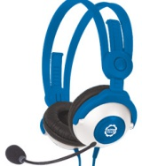 Win-Blue-Kidz-Gear-Headset-Headphone,-carry-bag-and-splitter-cable!