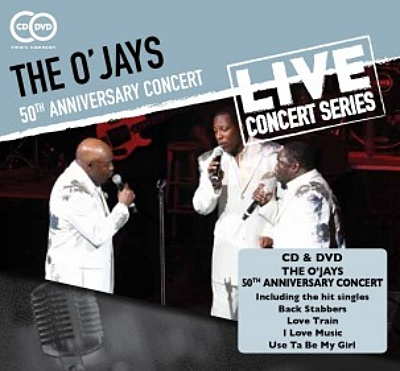 Win-1-of-2-The-OJays---50th-Anniversary-Concert-CD/DVDs