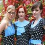 The Pipettes - Rose, Becki and Gwenno -