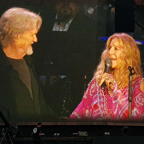 Barbra Streisand And Kris Kristofferson Performed Their 'a Star Is Born' Duet In Hyde Park - Music News