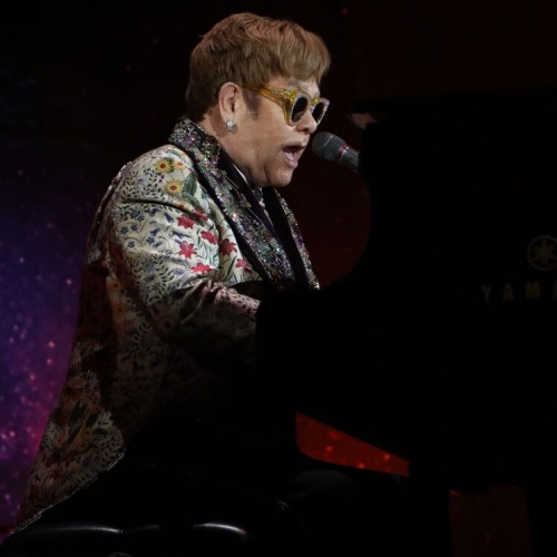 Elton John: 'I could be who I wasn't allowed to be on stage'