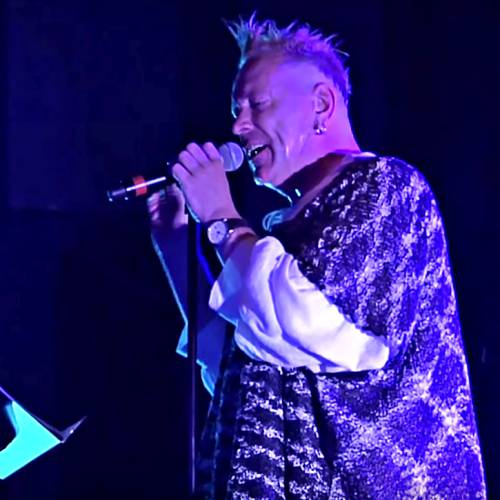 John Lydon hit with bottle in Chile