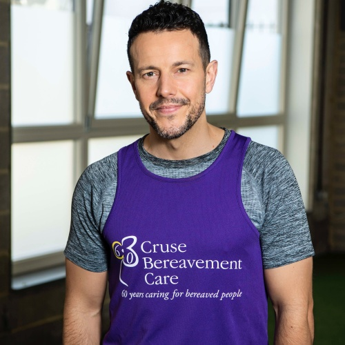 Lee Latchford-evans Supports Bereavement Charity