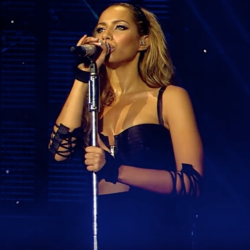 Leona Lewis rarely spoke to her support act on tour