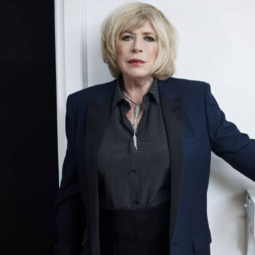 Marianne-Faithfull-working-on-new-collaboration