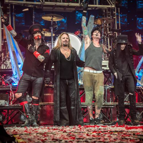 Mötley Crüe: The End: Legendary Rockers final show comes to cinemas