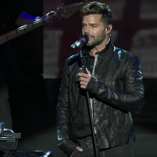 Ricky Martin's dad told him to be 'free and happy' after he told him he was gay