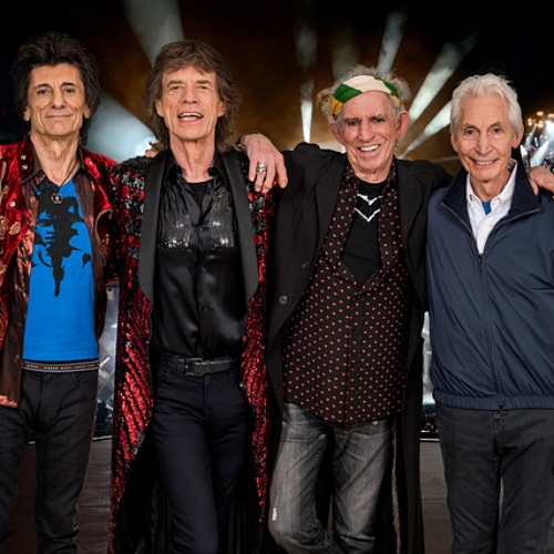 The Rolling Stones to paint tour logo black in tribute to Charlie Watts