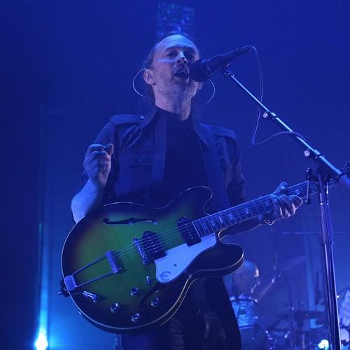 Radiohead symbol appears at Glastonbury