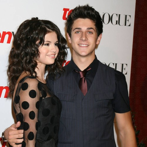 Selena Gomez watches former co-star David Henrie tie the knot