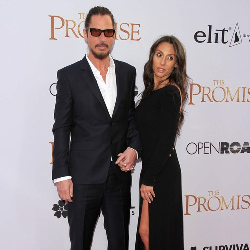 Chris Cornell's widow vows to make addiction awareness a priority