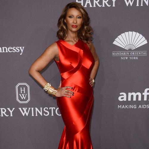 Iman: 'Public grief for David Bowie a reminder of your own deep sense of loss'