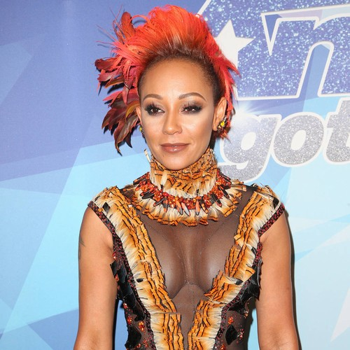 Mel B clears ex's belongings from her home