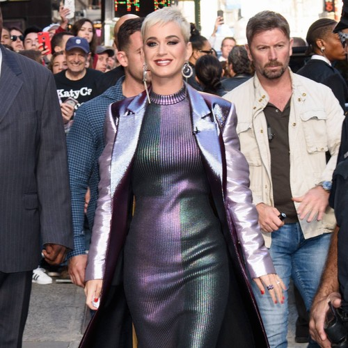 Katy Perry serenades mother during concert