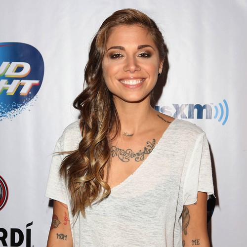 Christina Perri is a new mum a month after wedding