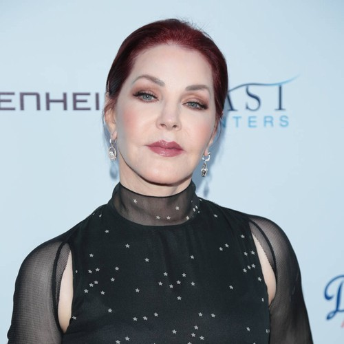 Priscilla Presley holds dead pet to protest South Korea's dog meat consumption