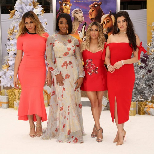 Fifth Harmony stars reunite to celebrate Lauren Jauregui's solo debut