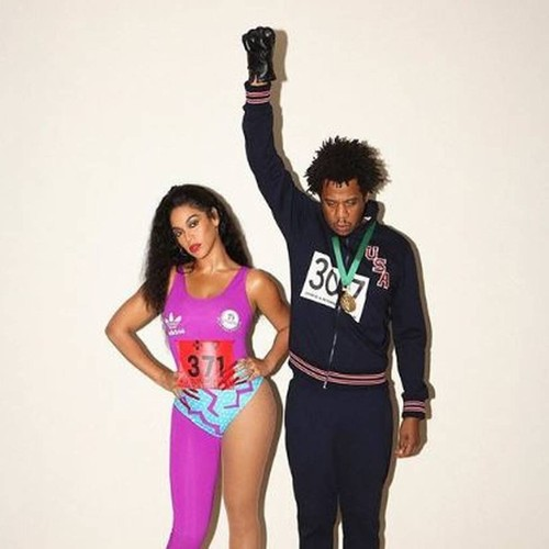 Beyonce And Jay-z Channel Olympians Florence Griffith Joyner And Tommie Smith