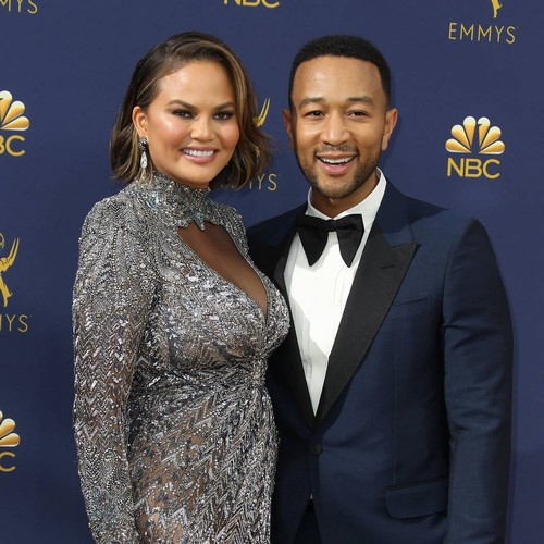 John Legend And Chrissy Teigen Sneak Into Theme Park With 'stolen' Golf Cart