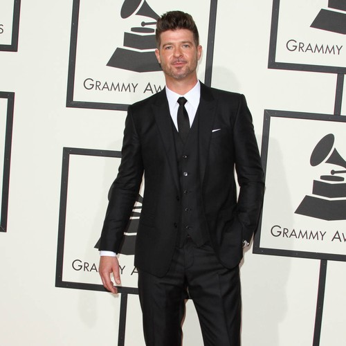 Robin Thicke's Home Destroyed In Widlfires