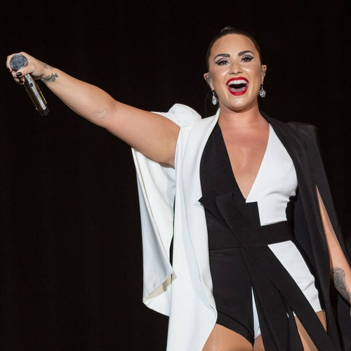 Demi Lovato 'filled With Hope' After Grammy Nod