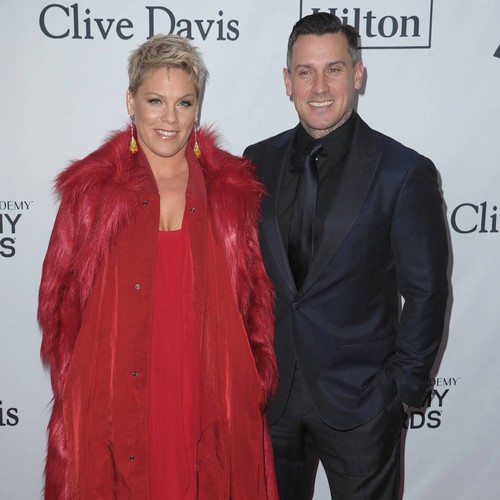 Pink's Husband Carey Hart Brushes Off Motocross Criticisms