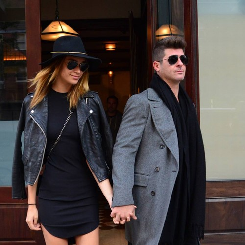 Robin Thicke Engaged