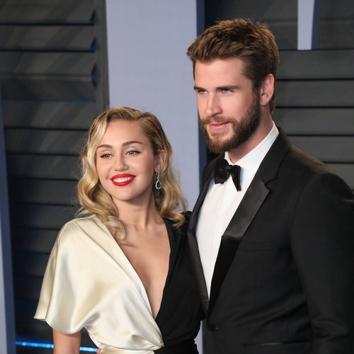 Miley Cyrus And Liam Hemsworth Dance To Uptown Funk In Wedding Video