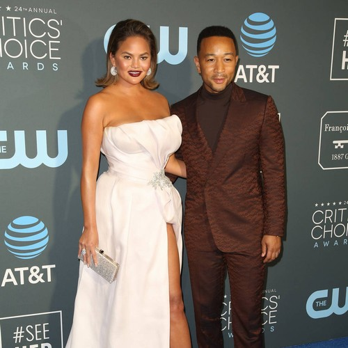 Chrissy Teigen & John Legend Had 'major' Fight At Kim Kardashian's Wedding - Music News