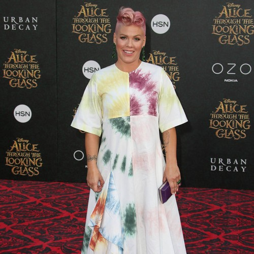Pink Was All Mum At Hollywood Walk Of Fame Ceremony