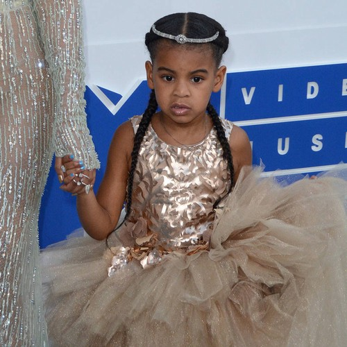 Blue Ivy Rules The Roost At Home With Mum Beyonce
