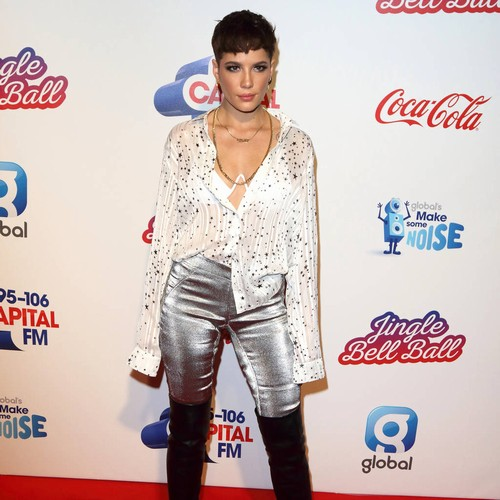 Halsey Teases Fans Who Think She's Pregnant