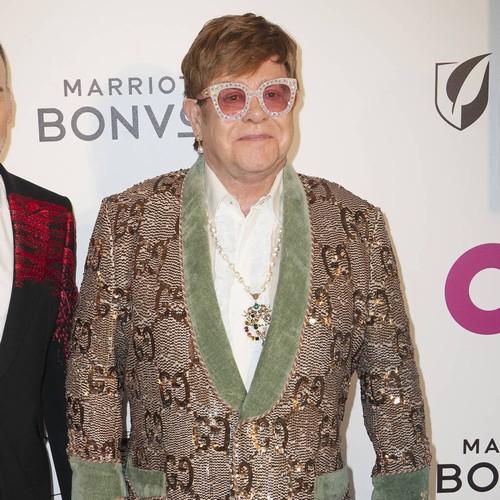Elton John And Taron Egerton Duet At Oscars Viewing Party