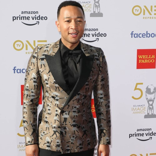 John Legend's swimming lessons get a boost from Olympian Ryan Lochte
