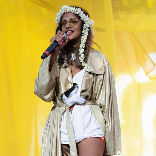 M.i.a. Accepted Mbe To Honour Mum's Old Job