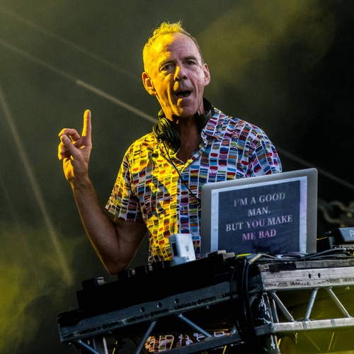 Fatboy Slim Launching 'smiley' Art Exhibition