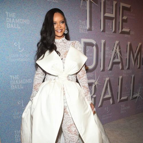 Rihanna Reunites With 'mentor' Teacher At West Indies Cricket Match