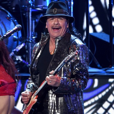 Carlos-Santana:-Bono-put-me-off-bicycles