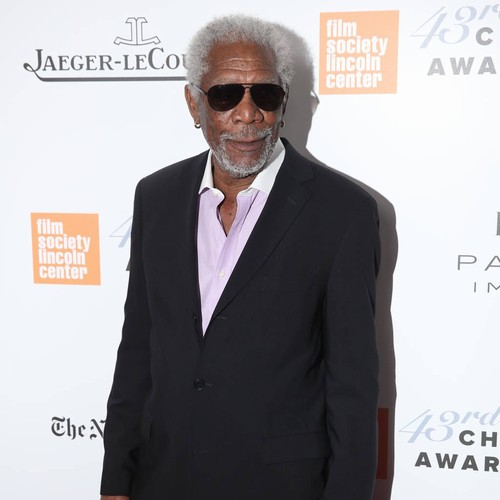Morgan Freeman: 'Burnt out? Paint a landscape!'