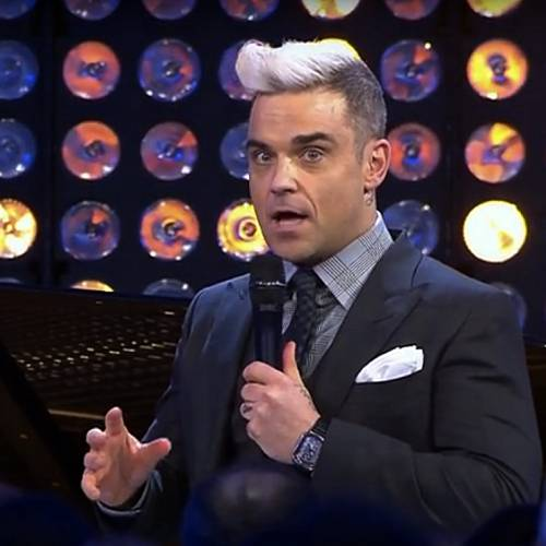 Robbie Williams changing his mind on kids