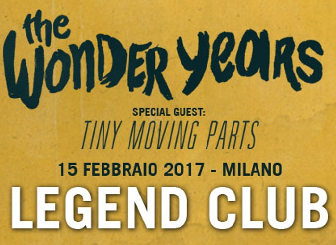 The Wonder Years: tornano in Italia